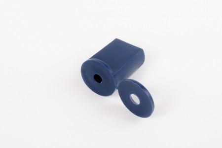 Kołek oporowy 28 mm do listwy dolnej, granatowy