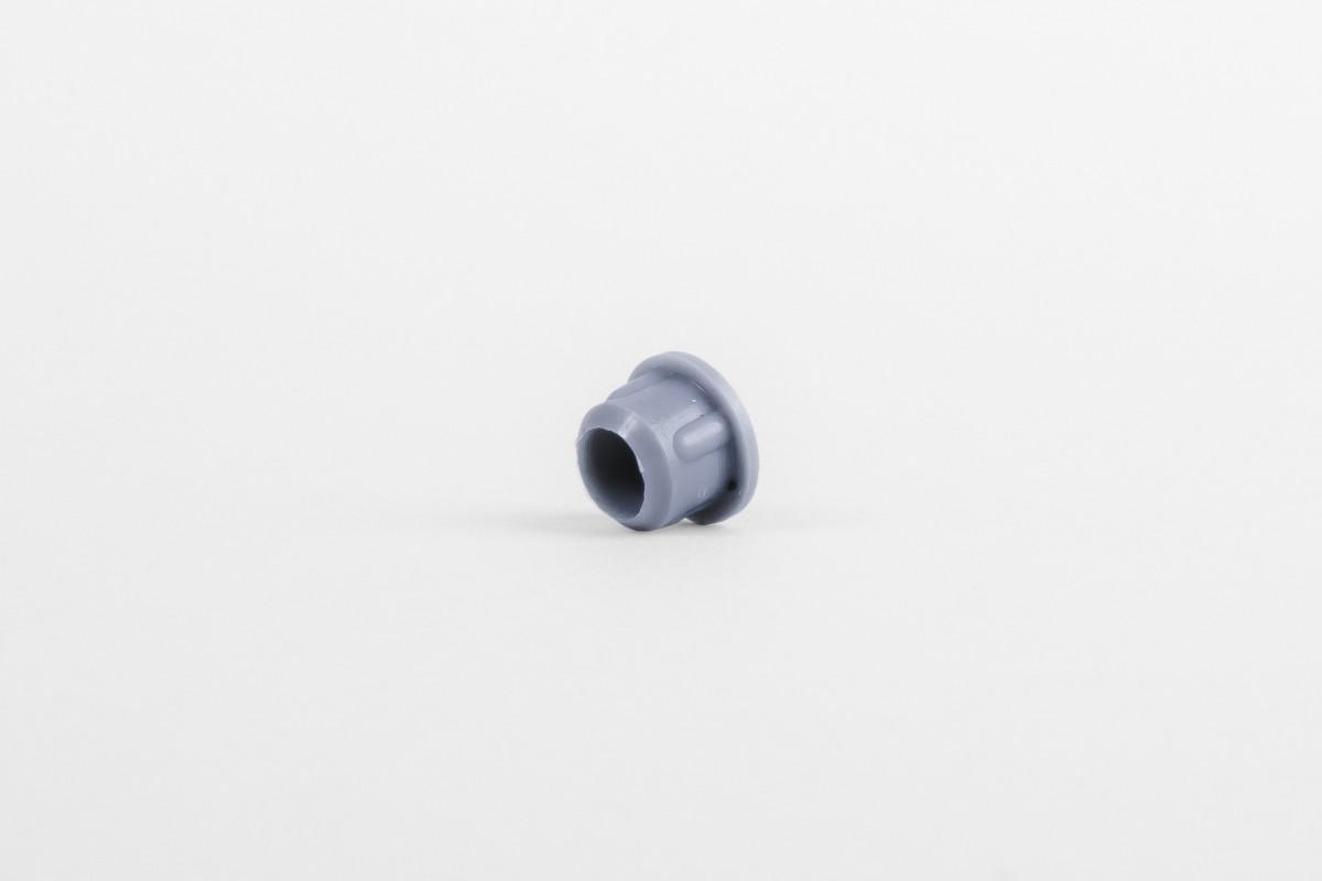 Zaślepka Ø10 bez rozcięcia, stalowy niebieski