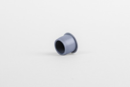Ø13 hole plug without cut, steel blue
