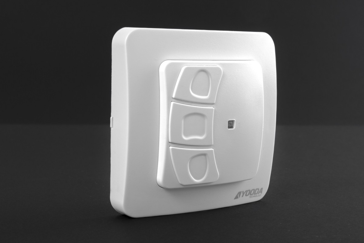 2-channel SHAKKI wall mounted remote control