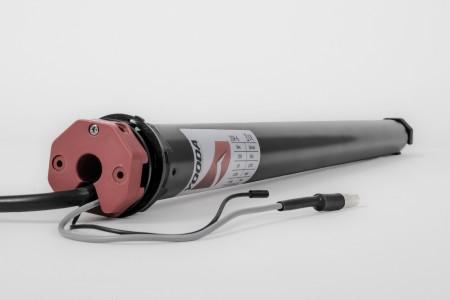 Napęd rurowy seria 35R, 10 Nm, 17 obr./min. z radiem