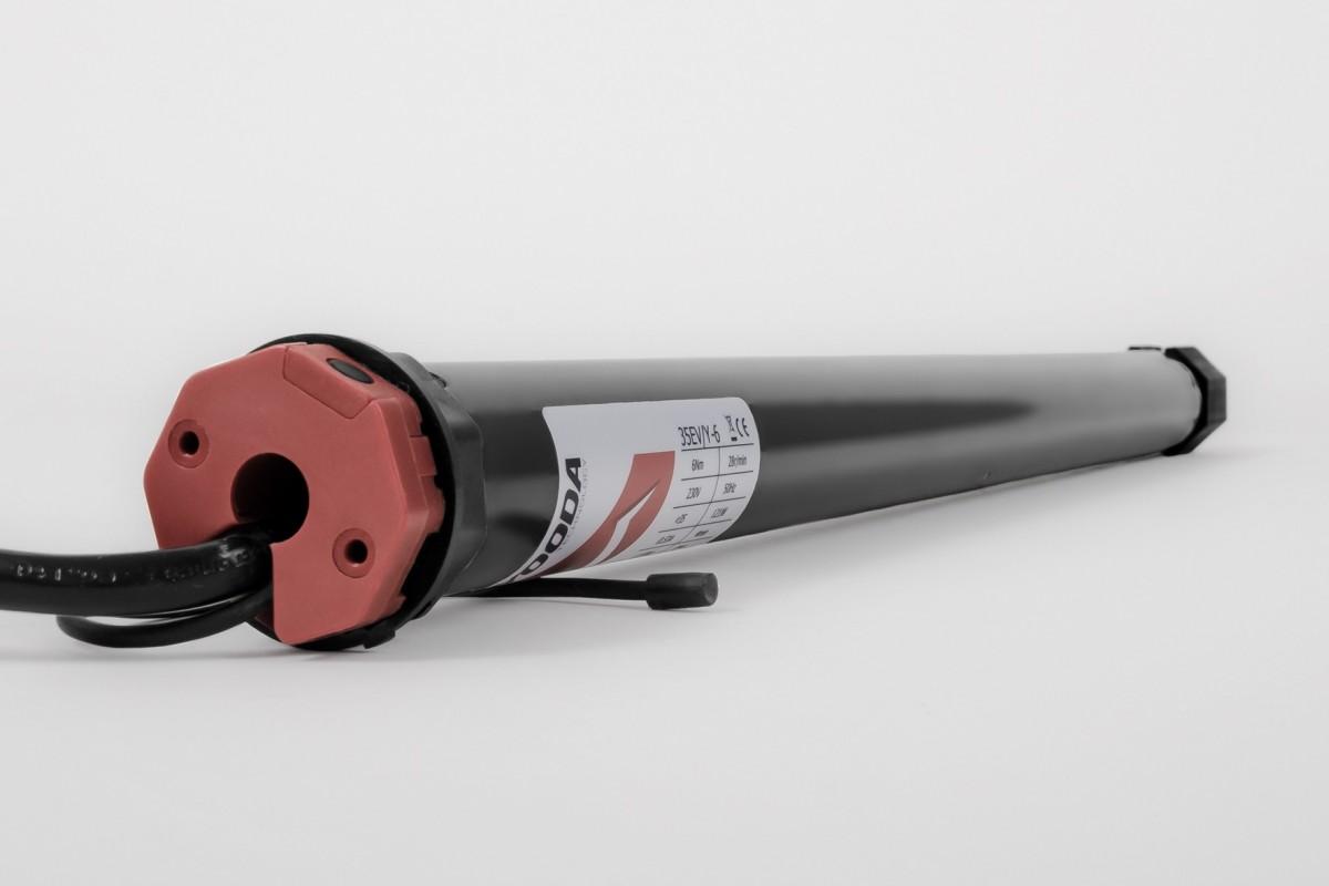Napęd rurowy seria 35EVY, 6 Nm, 28 obr./min. z radiem i detekcją przeszkód