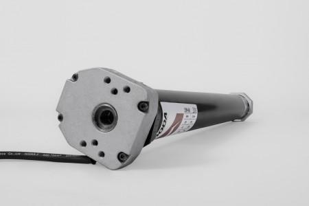 Napęd rurowy seria 55M, 80 Nm, 12 obr./min. z awaryjnym otwieraniem
