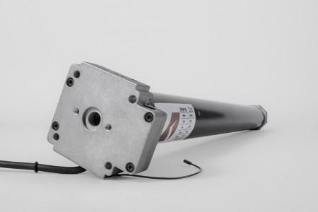 Wellenantrieb Serie 59RM, 80 Nm, 15 RPM - mit Funk und Notöffnung