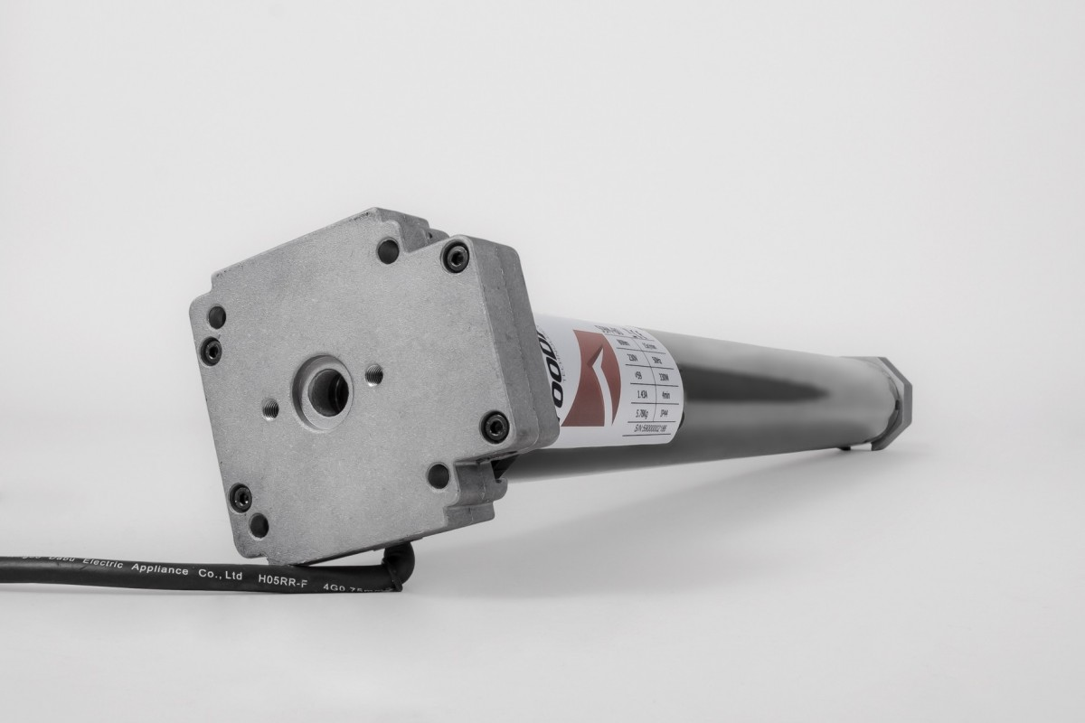 Napęd rurowy seria 59M, 100 Nm, 12 obr./min. z awaryjnym otwieraniem