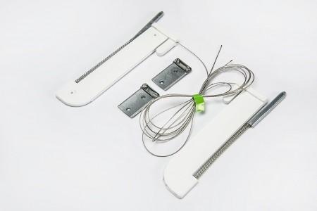 210 cm B type automatic lock (for 49 mm bottom slat)