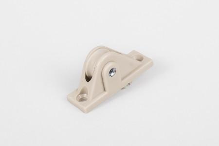 Prowadnica sznura PCV bez szczotki i sprężyny, beżowa
