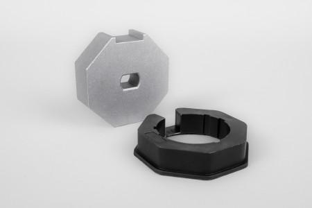 Адаптер восьмиугольный для октовала Ø 70 (электроприводы серии 45)