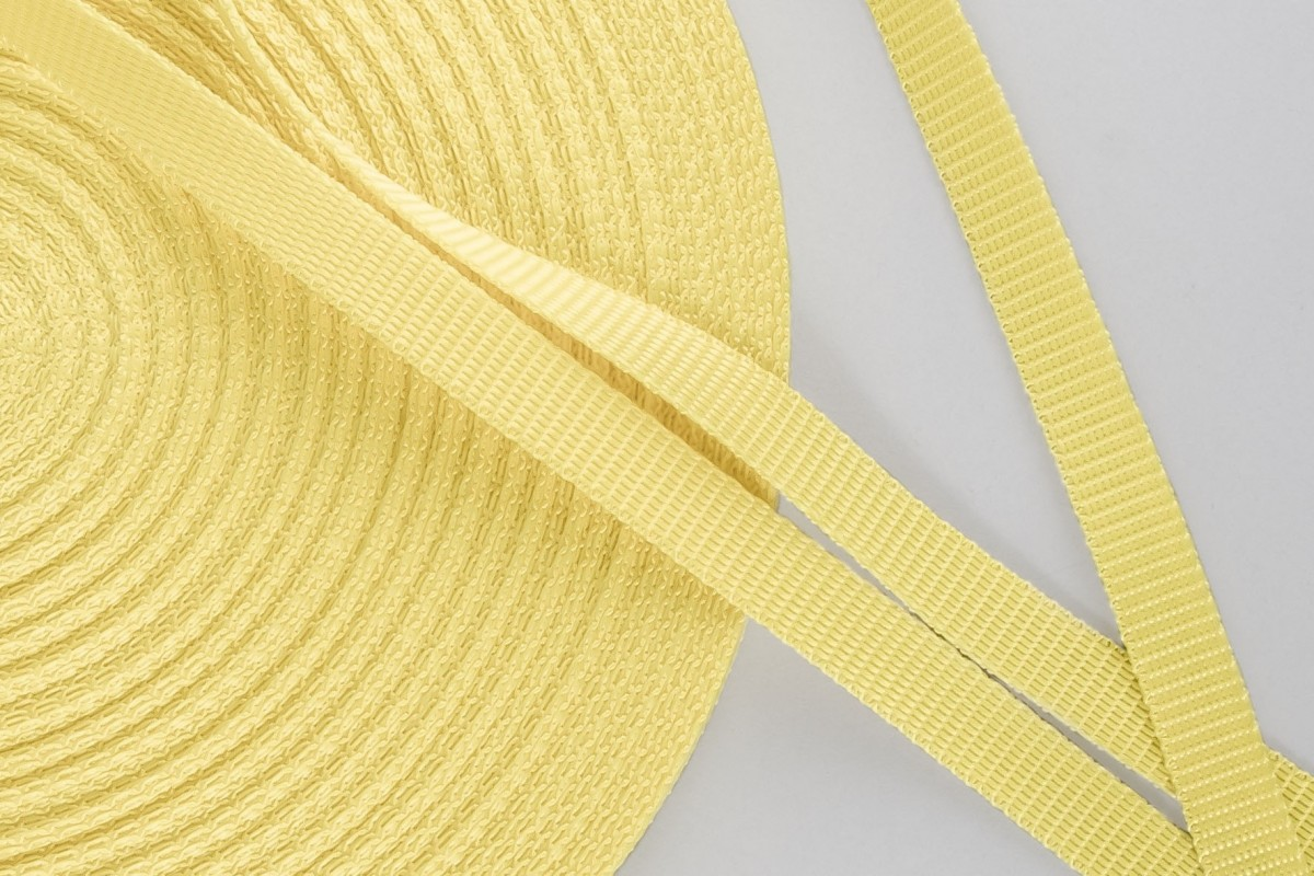 14 mm strap for coiler, yellow