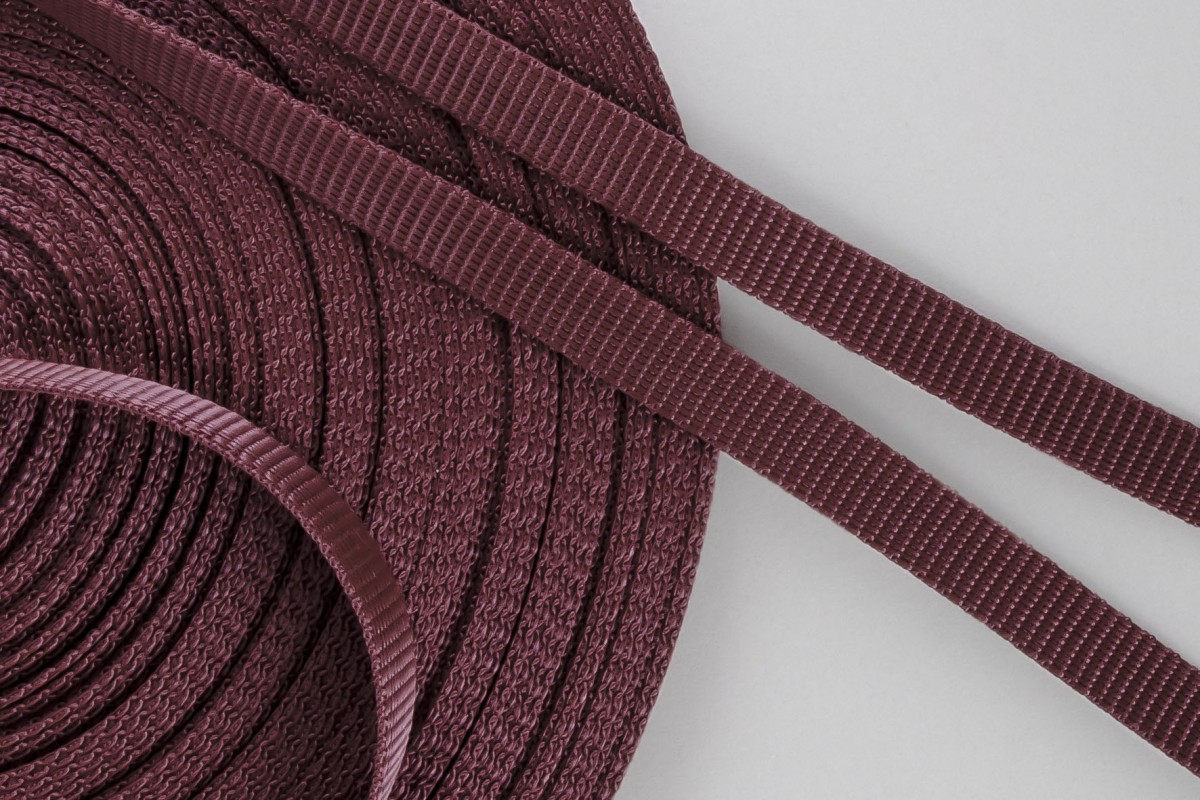 14 mm strap for coiler, maroon