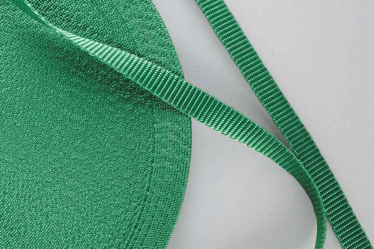 14 mm strap for coiler, emerald green