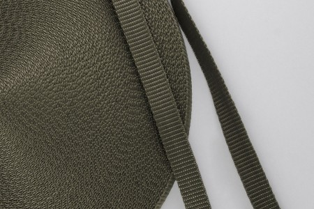14 mm strap for coiler, olive