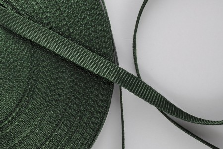 14 mm strap for coiler, dark green