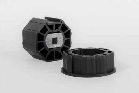 Octagonal adaptation Ø70 for 45 EVY and 45 BD motors