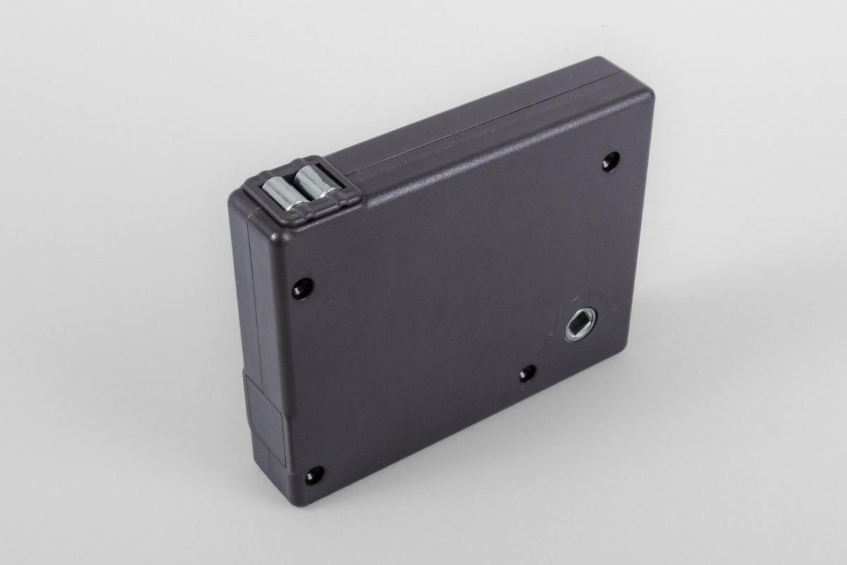 Strap crank box coiler max. load 22 kg, anthracite