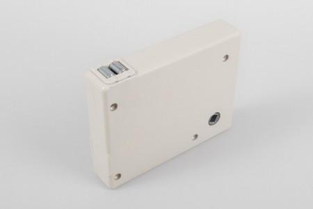 Strap crank box coiler max. load 30 kg, beige