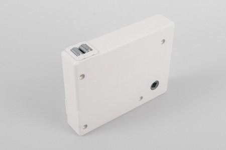 Strap crank box coiler max. load 30 kg, white