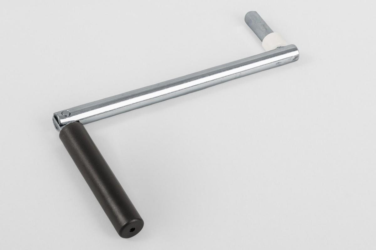 Korba 190 mm do zwijacza korbowego na sznur/taśmę, ciemny brąz