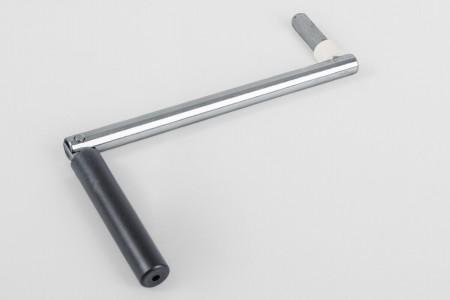 Korba 190 mm do zwijacza korbowego na sznur/taśmę, antracyt