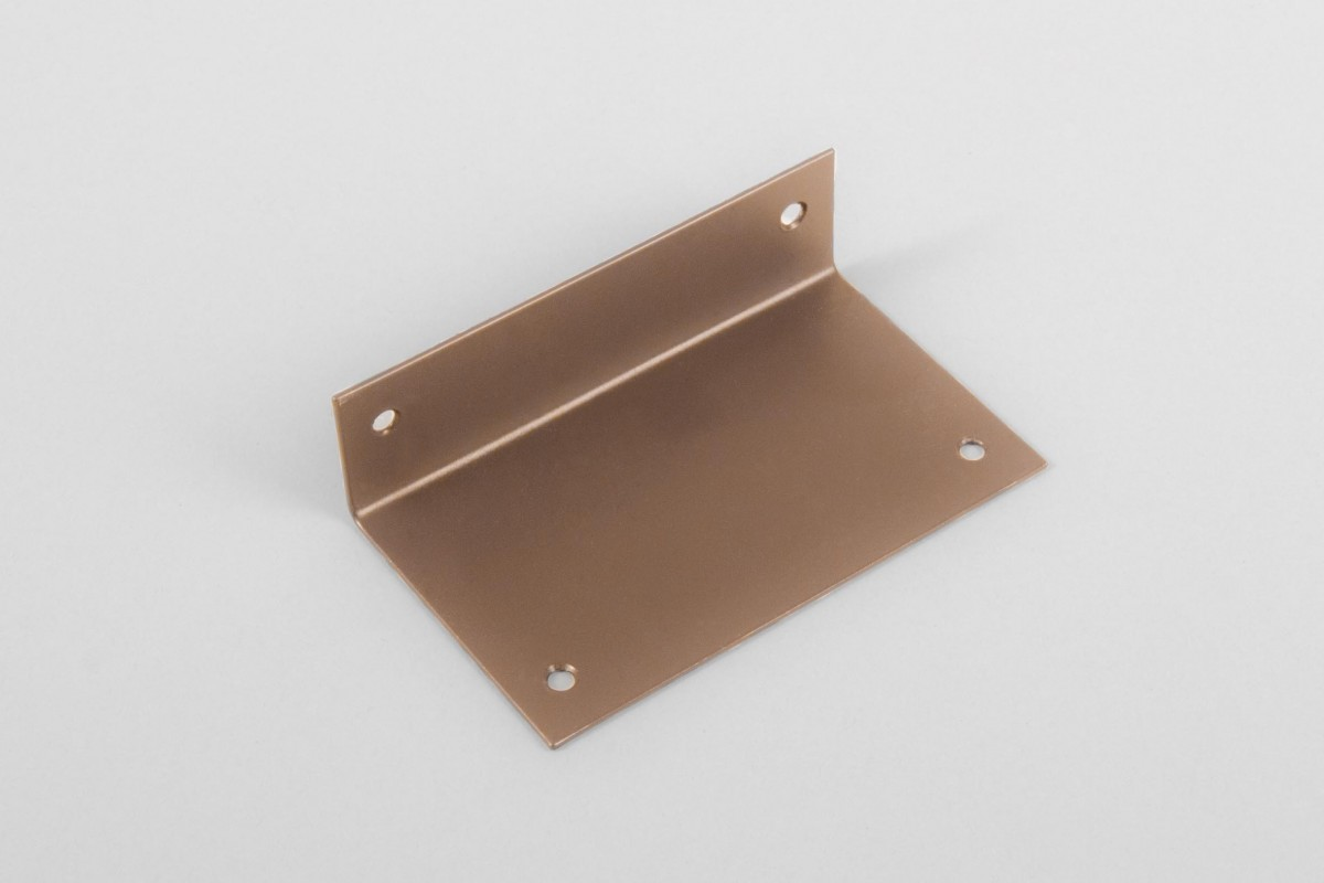 Angle bar for crank box coiler, Golden Oak