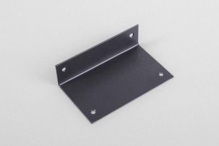 Angle bar for crank box coiler, anthracite