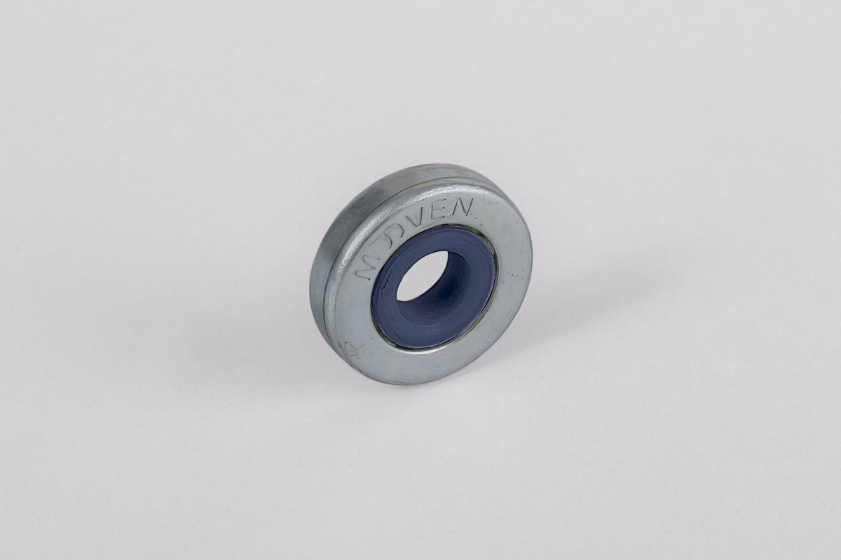 Ø28 / Ø12 bearing with PVC rim, without flange