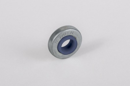 Ø28 / Ø12 bearing with nano blue rim and flange