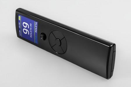 99-Kanal Tragbare-Handsender PIXEL 99, schwarz