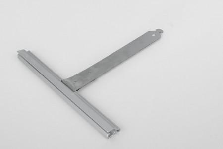 Wieszak nielak. wpust ALU150 bez rozcięcia L130 mm do profilu 37-52