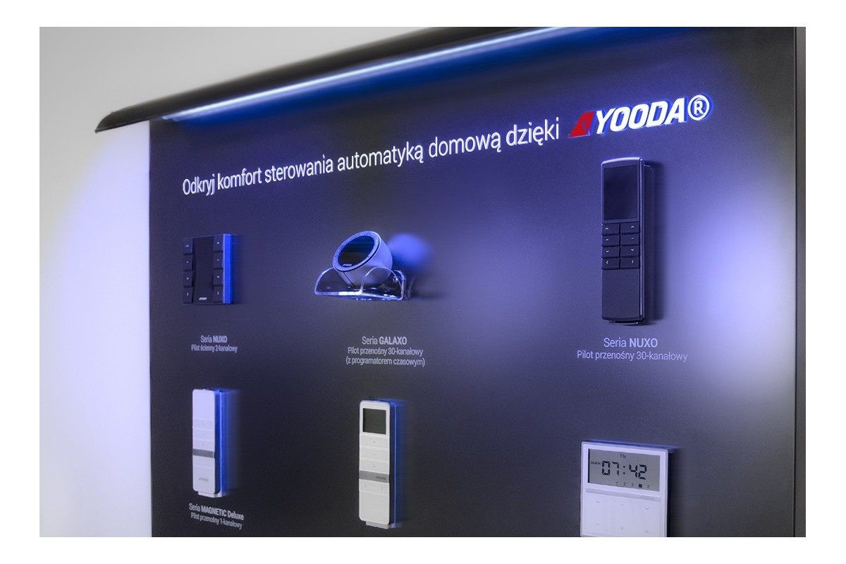 Präsentationstafel YOODA 2017