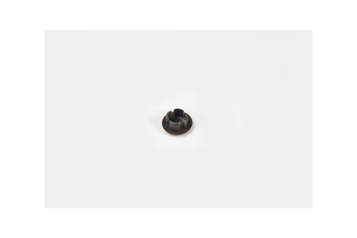 Ø10 hole plug with cut, nut-brown