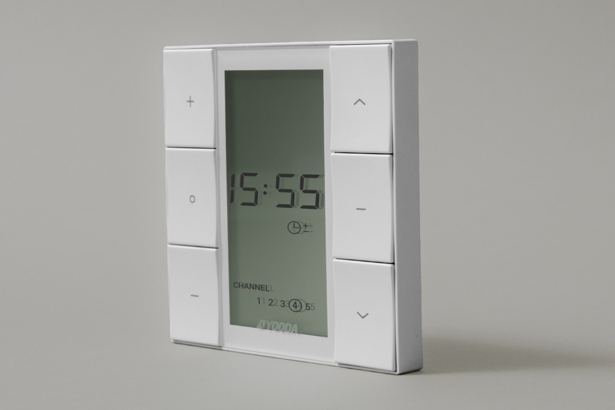 5-channel NUXO wall-mounted remote control with timer