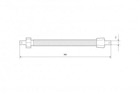 Spring mechanism max load 18 kg, Ø60