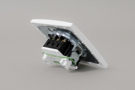 Przełącznik obrotowy podtynkowy, stabilny