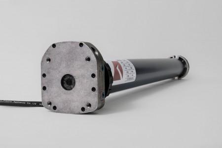 Napęd rurowy seria 59KM, 80 Nm, 26 obr./min. z awaryjnym otwieraniem