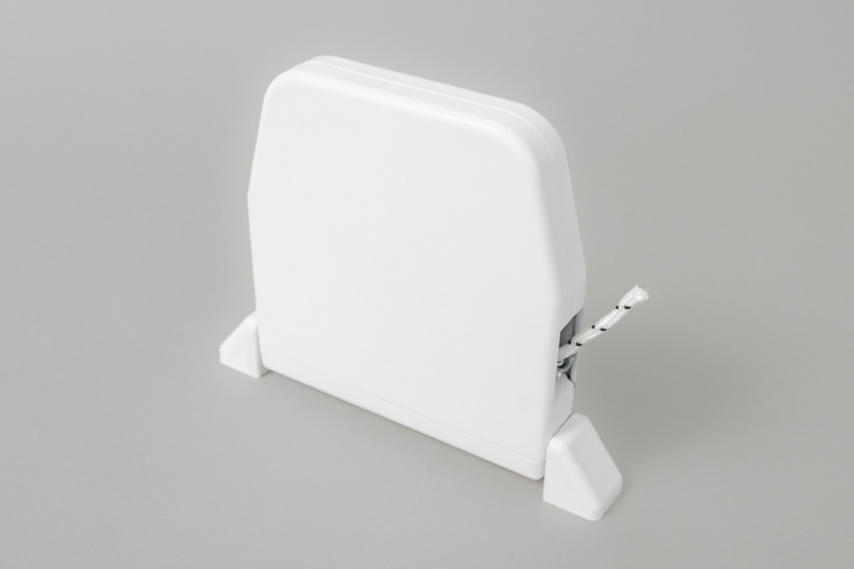 Zwijacz do 5 m na sznur  z maskownicą (ze sznurem), biały