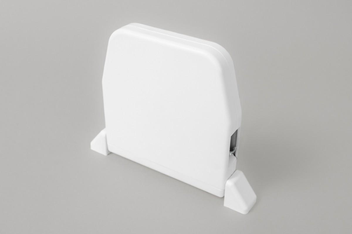 Zwijacz do 5 m na sznur  z maskownicą (bez sznura), biały