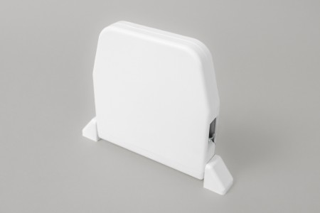 Zwijacz do 5 m na taśmę  z maskownicą (bez taśmy), biały