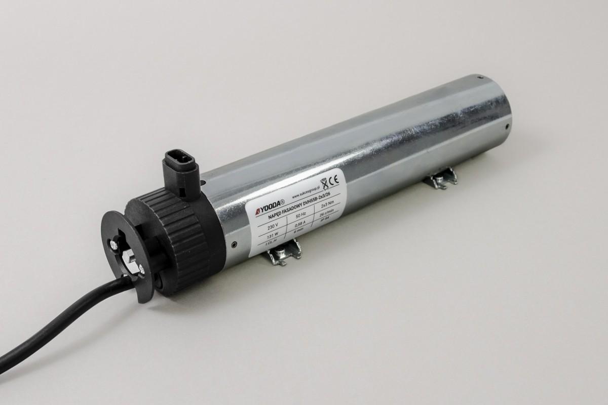 Napęd do żaluzji zewnętrznych DVH55B - 2*4,5 Nm