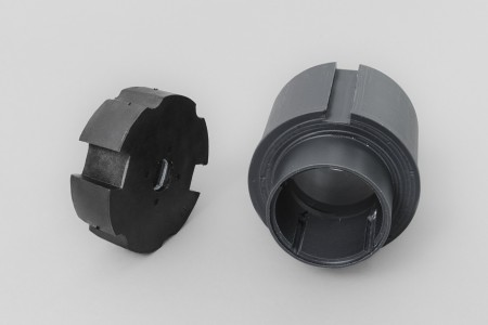 Round adaptation Ø78 for 45 series motors (ZIP)