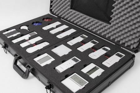 Prezenter walizka modułowa Biały/Mix