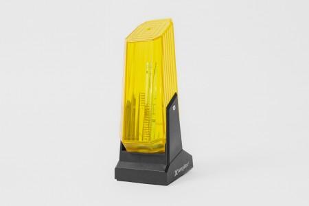 External warning light, yellow