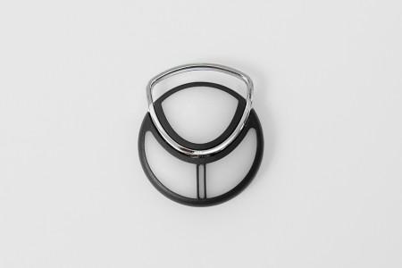 Miniatur-Handsender TP03, 3-Kanal, schwarz