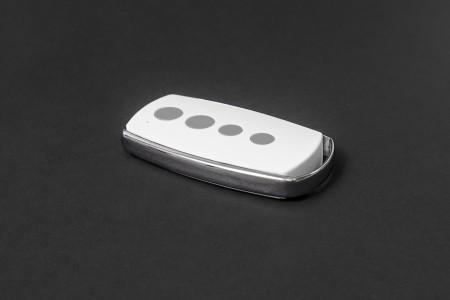 Miniatur-Handsender TP15, 4-Kanal, schwarz