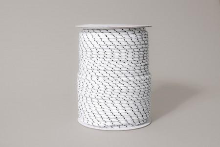 Шнур для кассеты Ø3,9 мм, черно-белый
