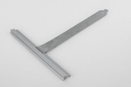 Wieszak nielak. wpust ALU150 bez rozcięcia L170 mm do profilu 37-52