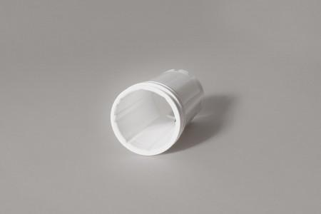 Pierścień nawojowy żaluzji, biały, typ B